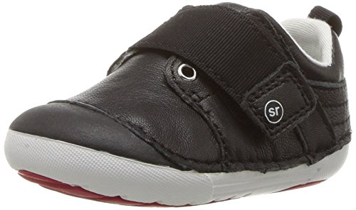- Stride Rite Boys' Soft Motion Cameron Sneaker, Black, 6 Wide US Toddler