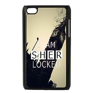 Sherlock Sherlock iPod Touch 4 Case Black DIY Gift zhm004_0480711