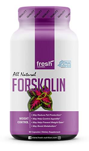 Forskolin – Strongest DNA Verified – Coleus Forskohlii – Vegan Friendly – Non GMO – Gluten Free