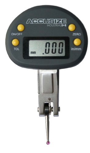 AccusizeTools - 0.02' x 0.0001' Electronic Digital Test Indicator in Fitted Box, #P900-S129