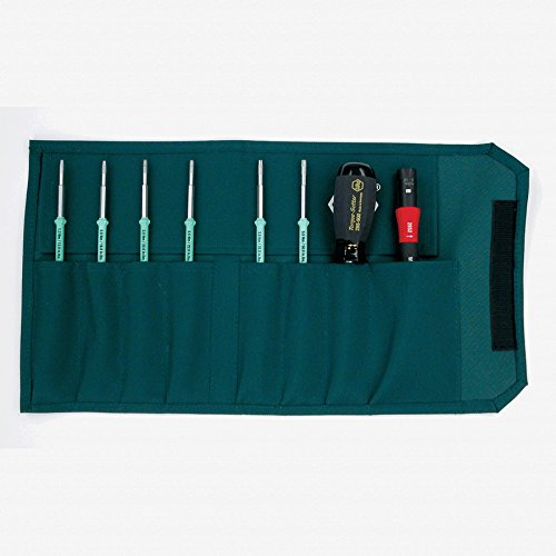 Wiha 28598 TorqueControl Set with TORX Plus Blades in Pouch, 8 Piece by Wiha