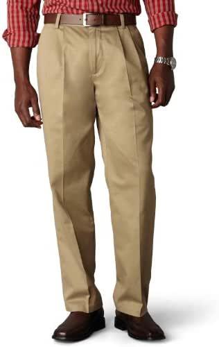 Dockers Men's Classic-Fit Signature Khaki Pant - Pleated D3