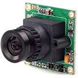 FPV camera onboard Mini Wide Voltage surveillance board camera SC2000 RunCam PZ0420M-L28-R 600TVL DC 5-17V Camera with 2.8mm/2.4mm Lens and IR Blocked for Quadcopter and Sailplane