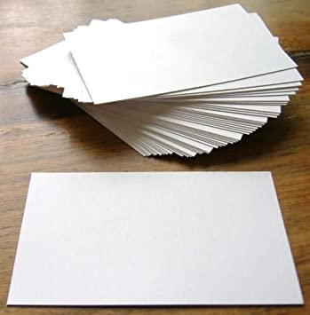 100 x white blank business cards 250gsm card uk card crafts 100 x white blank business cards 250gsm card uk card crafts reheart Image collections