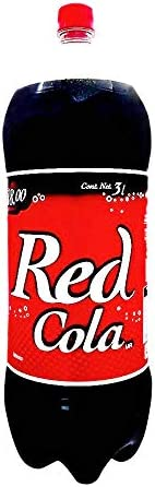 Red Red Cola Refresco Mega de 3 Lt, Cola, 3000 mililitros
