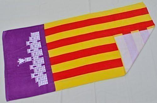 Toalla de playa con diseño de bandera de país: Amazon.es: Hogar