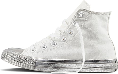 Converse 156769 Chuck Taylor All Star Unisex Sneaker (white/silver)