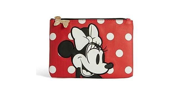 Primark Disney Minnie Mouse - Bolso con cremallera - Bolsa de maquillaje pequeña -: Amazon.es: Belleza