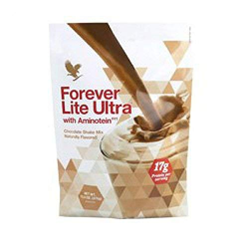 Forever Lite Ultra with Aminotein Nutrition Chocolate Shake 13.2 oz(17g of Protein per Serving) ()