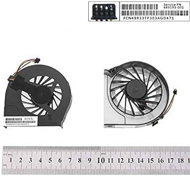 Portatilmovil Ventilador CPU para PORTÁTIL HP Pavilion G6-2054SS ...