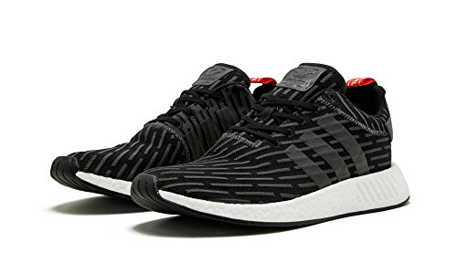 Adidas Nmd_r2 Cblack / Gray / Red