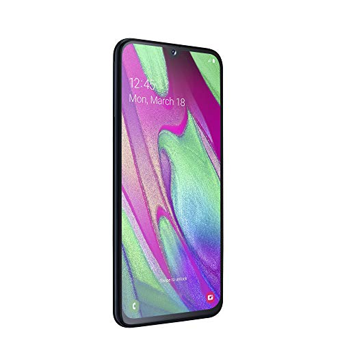Samsung Galaxy A40 (2019) Smartphone, Nero, Display 5,9″ 64 GB Espandibili, Dual Sim [Versione Italiana]