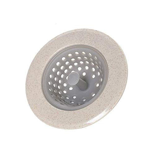 Silicone Kitchen Sink Drain Plugs Strainers Sewer Hair Filter Collect Bath Drain Stopper Sink Floor Drain Plug Kitchen ()