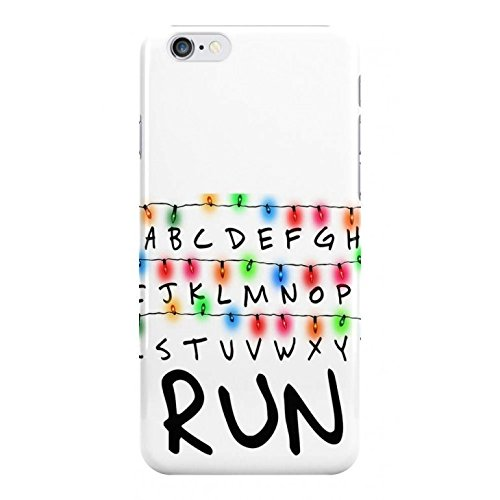 newest 7c96e 6ba09 Run - Stranger Things Phone Case - Hard Plastic, Snap On Cell Phone Cover -  Fun Cases - iPhone 5 / 5s / SE