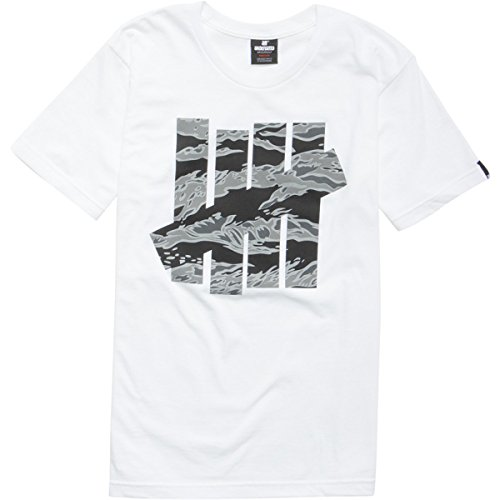 Undefeated Large Camo Strike Tee (XL, white)