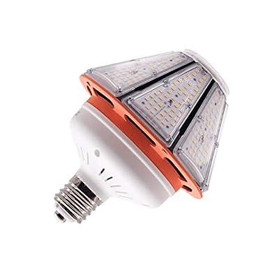 Hawks 60W LED Corn Light Bulb E39 Mogul Base 4000K 9150 High Lumen Super Bright for Backyard Warehouse Garage Lighting Post Top Street Lamp 400W Replacement