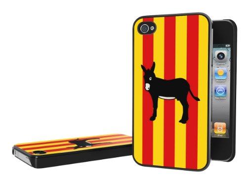Master Case - Coque iPhone 4/4S Drapeau Catalan