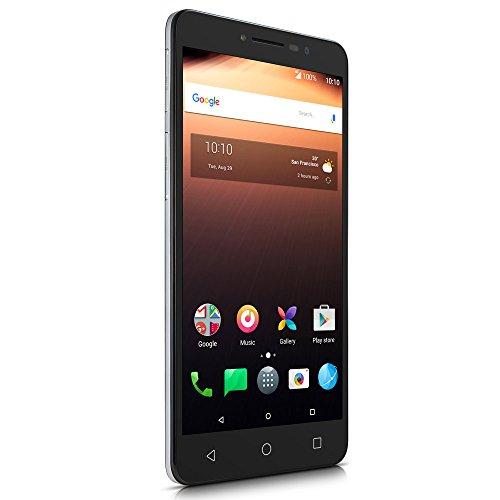 Smartphone alcatel a3 xl max cinza, dual chip, tela hd 6 pol., 3gb ram, android 7.0 nougat, 3.000mah