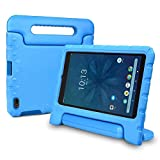 Bolete Walmart Onn 8 inch Tablet Case, Light Weight Shockproof Rugged Protective Convertible Handle with Stand Kids Cover for Onn 8 inch Tablet Model ONA19TB002 - Blue