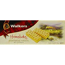 Walkers Shortbread Homebake Fingers, 5.3-Ounce Boxes (Pack of 3)