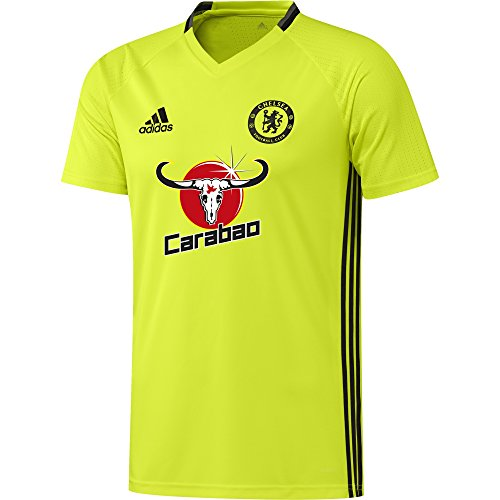 2016-2017 Chelsea Adidas Training Jersey (Yellow)L