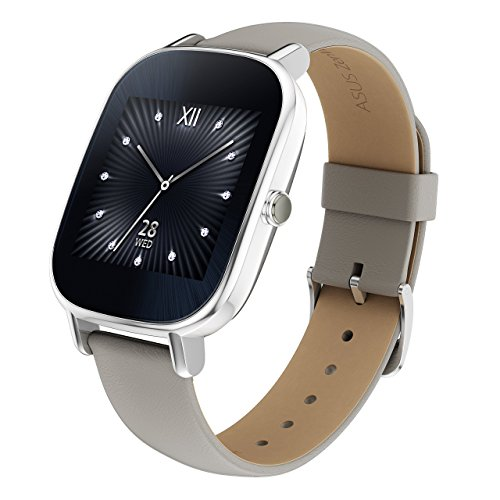 "ASUS ZenWatch 2 Android Wear Smartwatch - 1.45"", Silver case"