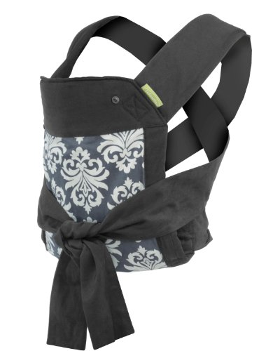Infantino Sash Mei Tai Carrier, Black Gray
