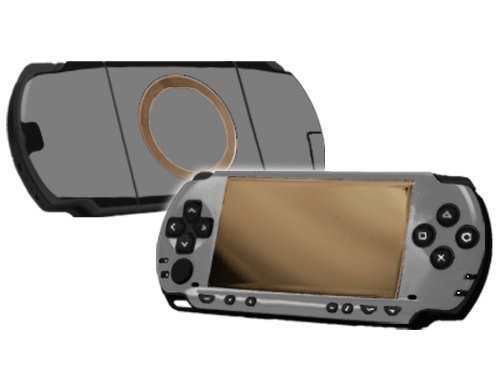 (Sony PlayStation Portable 1000 (PSP) Skin - NEW - HI-HO SILVER system skins faceplate decal mod by System Skins)