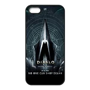 iPhone 5,5S Phone Case Black Diablo ESTY7787908