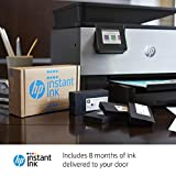 HP OfficeJet Pro 9016 All-in-One Wireless Printer - Includes 8 Months of Ink Delivered to Your Door and Smart Tasks for Home Office Productivity (K7R96A), Black/White