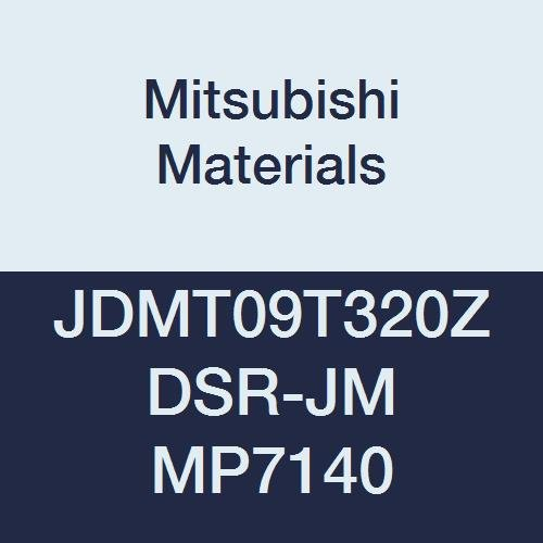 Coated Chamfer and Round Honing 0.315 Inscribed Circle Mitsubishi JOMW080320ZZSR-FT MP6120 Carbide Milling Insert Grade MP6120 Class M Case of 10 0.125 Thick 0.079 Corner Radius