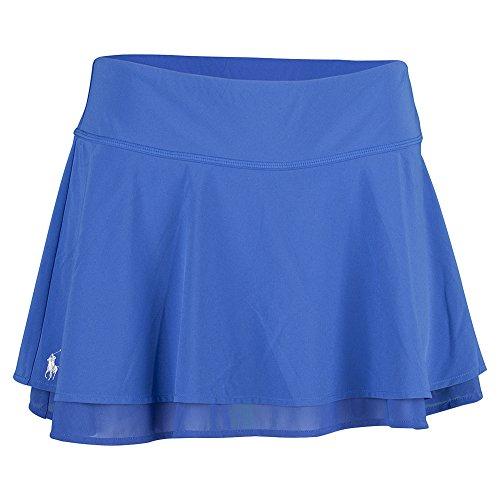 Women`S Ruffle Tennis Skort Diplomat Blue Size L by Polo Ralph Lauren