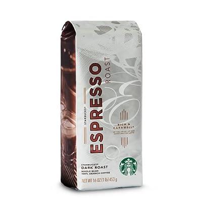 Starbucks Espresso Roast, Whole Bean Coffee from Starbucks Hot Coffee