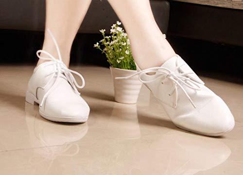 De Style One Pour Britannique Femmes D'automne Chaussures Plats Blanches Sport Talons Color IgUO0wx
