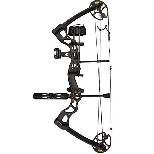 SAS Rage 70 Lbs 30'' Compound Bow (Black With Pro Package)