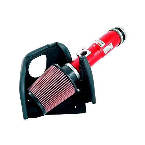 K&N 69-6506TR Typhoon Air Intake Kit, Short Ram, Red