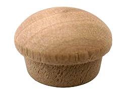 Milescraft 5319 Mushroom Wood Button, 12-inch