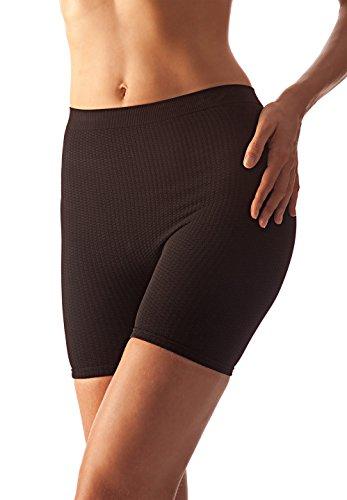 FarmaCell 102 (Black, S/M) Women's Anti-Cellulite micromassage mid-Thigh -
