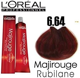 Tinte para cabello Majirouge n.° 6.64