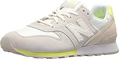 New Balance Women's 696 v1 Sneaker,sea Salt/Solar Yellow,6 B US