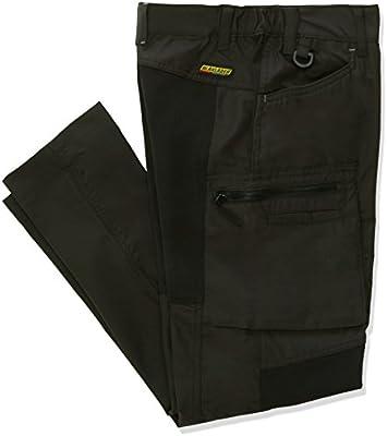 Dark Green//Black Blaklader 715918459899C34 Ladies Service Trousers Size 27//32