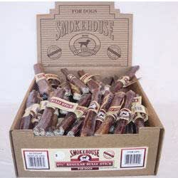 smokehouse bully sticks natural dog chew treats pet rawhide treat sticks pet. Black Bedroom Furniture Sets. Home Design Ideas