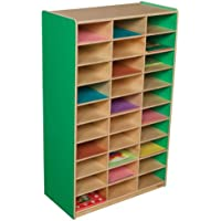 Healthy Kids Colors WD33300G Green Apple Mailbox Center