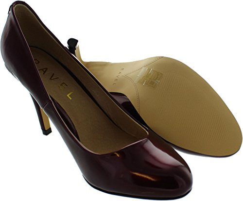 Ravel Clanton - Zapatos de vestir de tela para mujer rojo Red, color rojo, talla 39