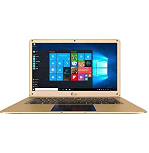 i-Life ZedAir H2 Laptop - Intel Celeron Apollo Lake N3350, 14-Inch, 500GB + 32GB, 3GB RAM, Eng-Arb-KB, Windows 10, Gold