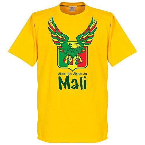 Mali Allez Les Aigles t-shirt–giallo