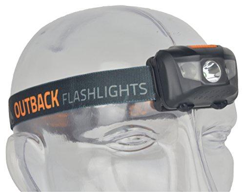 Led 3 Headlamp Tikka (Outback Cobber XL Headlamp 3 Watt LED 110 Lumens Includes 3 AAA Alkaline Batteries)