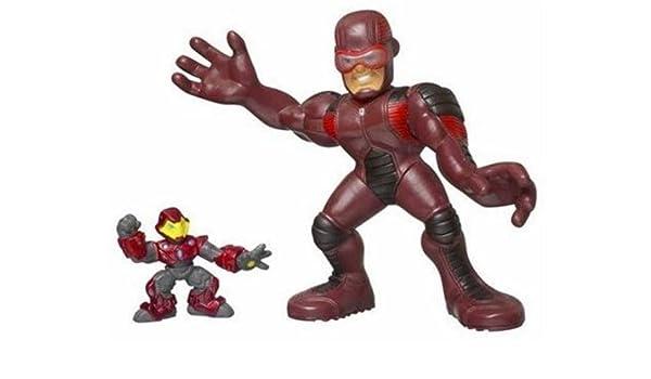 Marvel Super Hero Squad Giant Man and Iron Man Mega Size Pack ...