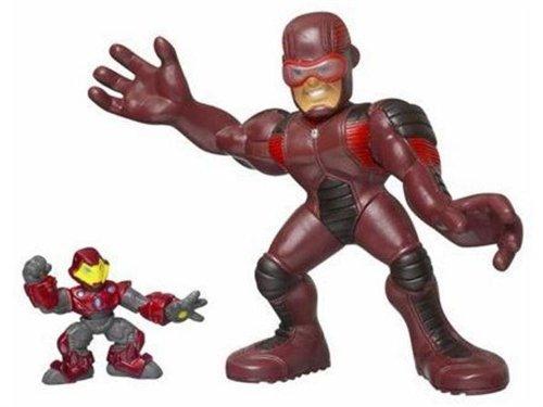 Marvel Super Hero Squad Giant Man and Iron Man Mega Taille Pack Action Figure Set