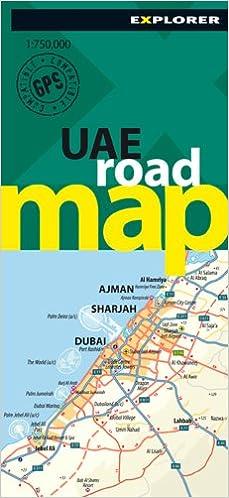 UAE Road Map: Amazon.co.uk: Explorer Publishing and ...
